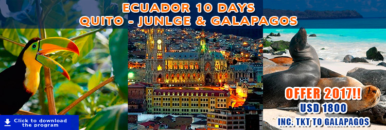 Ecuador Tours Offers